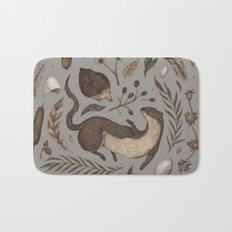 Weasel and Hedgehog Bath Mat