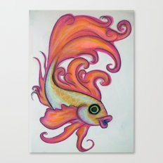 just a fish Canvas Print