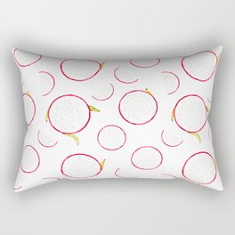 Dragon fruit pattern Rectangular Pillow