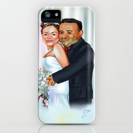 Pau & Javis iPhone Case