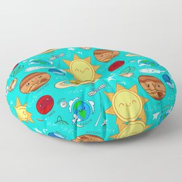 Planet party Floor Pillow