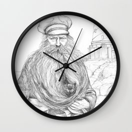 The lighthouse keeper Wall Clock