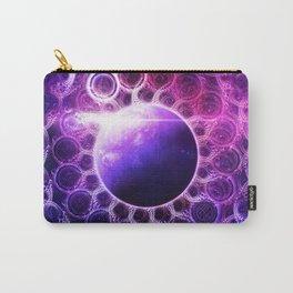 Deep Dream Fractal Mandala - Deep Space Galaxy Dreamer Carry-All Pouch