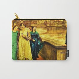 Henry Holiday Classical Masterpiece Dante and Beatrice Carry-All Pouch