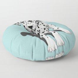 Dalmatian Puppy Floor Pillow
