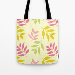 Hummingbird Hallow Collection - Blowing colourful Leaves  Tote Bag