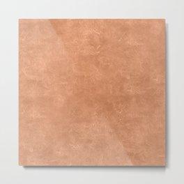 Sandstone Oil Pastel Color Accent Metal Print