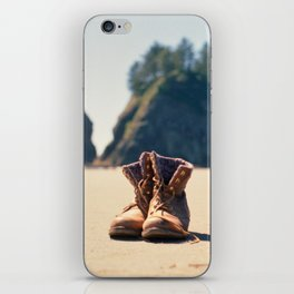 Dirty Shoes Happy Soles iPhone Skin