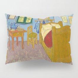 Van Gogh - The bedroom - digitally remastered Pillow Sham