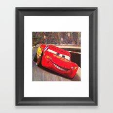 Speedy Framed Art Print
