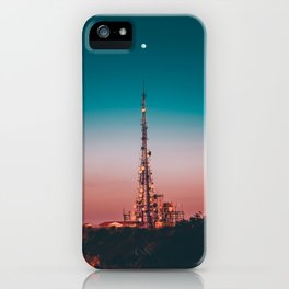 LA Antenna & Moon iPhone Case