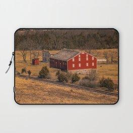 McLean Farm Gettysburg National Military Park Civil War Battlefield  Laptop Sleeve