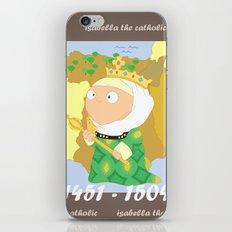 Isabella I of Castile iPhone & iPod Skin