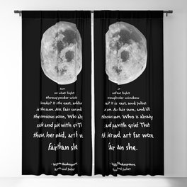 Moon Bridge Shakespeare Blackout Curtain