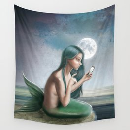 Hello? (Disconnected) Wall Tapestry