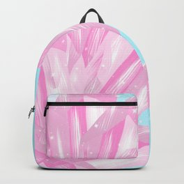 Sparkly Pinky Crystals Design Backpack