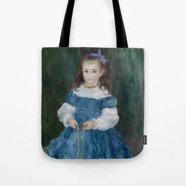 Girl with a Jump Rope (Portrait of Delphine Legrand) Tote Bag