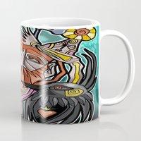 return Mugs featuring return by arteology