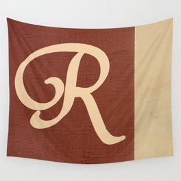 Monogram R  Wall Tapestry