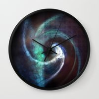 under the sea Wall Clocks featuring Under Sea by Nicki Hart
