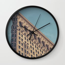 Building new york Wall Clock