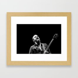Caleb Followill (Kings of Leon) - I Framed Art Print