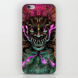 Japanese Dragon Mask iPhone Skin
