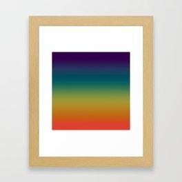 Prism ~ Rainbow 2017 Framed Art Print