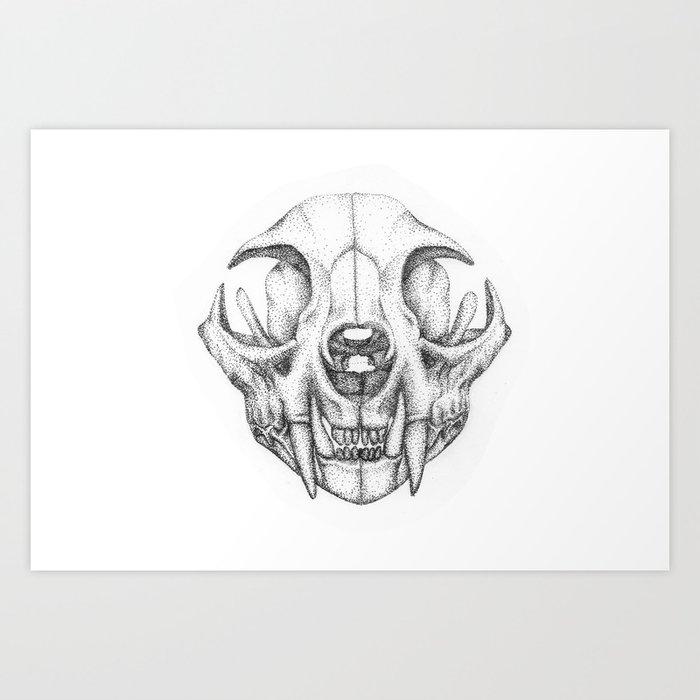 Fox Skull Art Print By Selvynilist Society6 3000 x 3000 jpeg 343 кб. fox skull art print by selvynilist