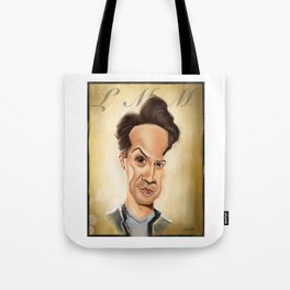 Lin Manuel - Original Caricature Tote Bag