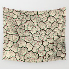 Glitchy desert Wall Tapestry
