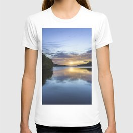 Llyn Padarn Sunset T-shirt