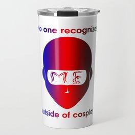 Recognize NINJA- Gradient print Travel Mug
