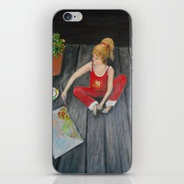 The Emerging Artist- see the difference  iPhone Skin