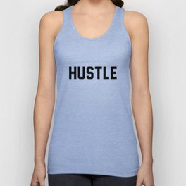 Hustle - light version Unisex Tank Top