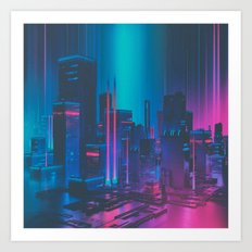 MAINFRAME-1982 (everyday 12.21.15) Art Print