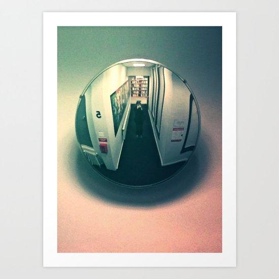 Mirror Ball #4 Art Print