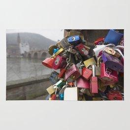Heidelberg Love Locks Rug