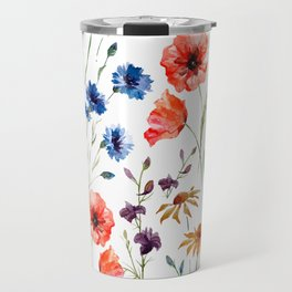 Floral Madness Travel Mug
