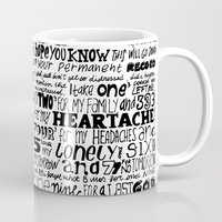 word Mugs featuring Word by Etiquette