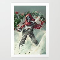 anarchy Art Prints featuring Anarchy by gravitybeams