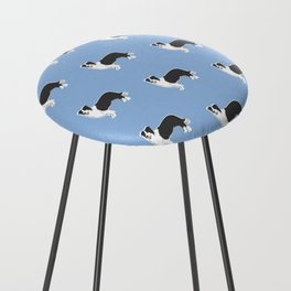 Border Collie Counter Stool