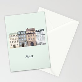 Vector City - Paris Stationery Cards