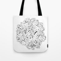 moss Tote Bags featuring MOSS by AnnaToman