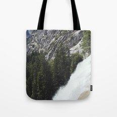 yosemite waterfall Tote Bag
