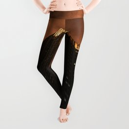 LOW ANGLE PHOTOGRAPHY OF HIGH RISE BUILDING Leggings