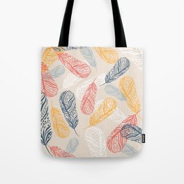 FeathersI Tote Bag