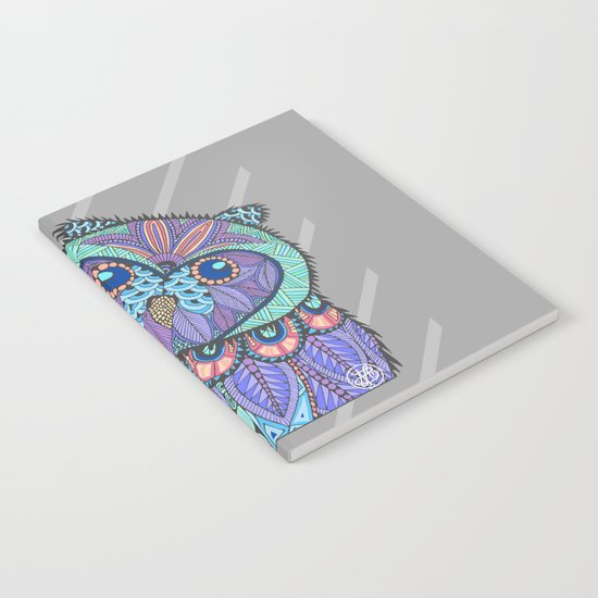 Spring Owl Notebook