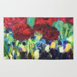 Harmony of Roses Rug