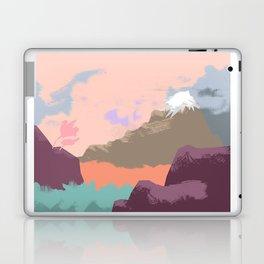 Pink Sky Mountain Laptop & iPad Skin